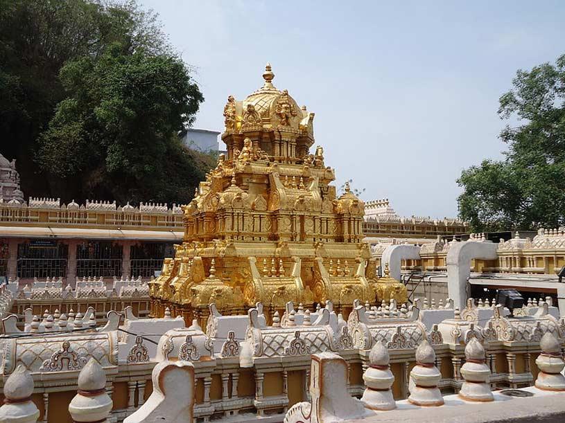 Kanakadurga Temple Vimana Gopuram