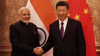 PM Modi with Jinping