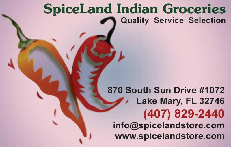 Spice land