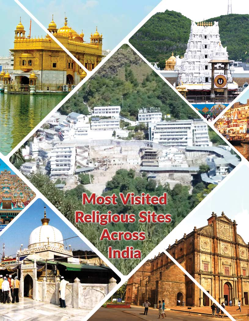 Most Visited Religious Sites Across India