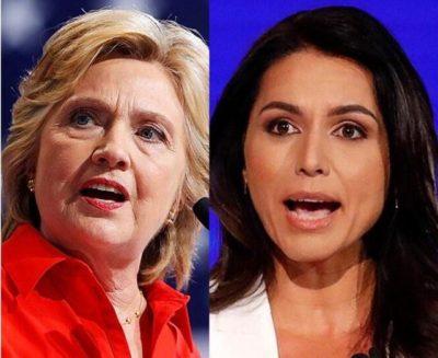 Tulsi gabbard And Hilary Clinton