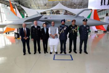 India Receives its first Rafale Fighter Jet from France