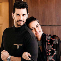 Neha Dhupia and Angad Bedi Vacation in Maldives
