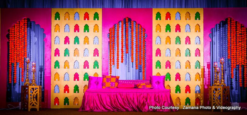 Marvelous sangeet venue capture