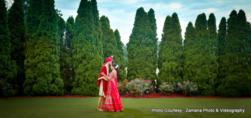 Astonishing indian couple's wedding photography