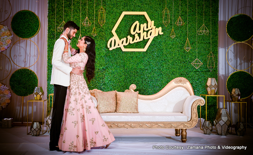 Most romantic indian bride and groom Dance