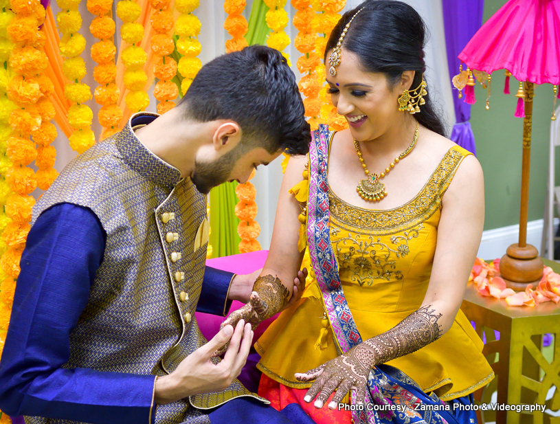 Adorable Indian Brides Mehndi