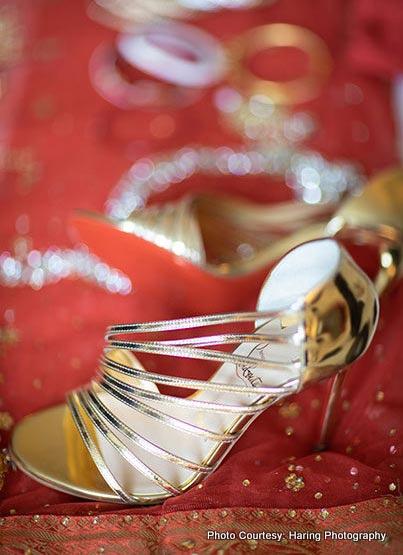 Indian bride Footwear