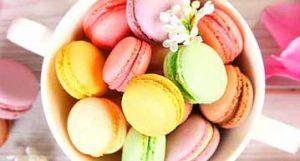 Desi Flavored Macarons