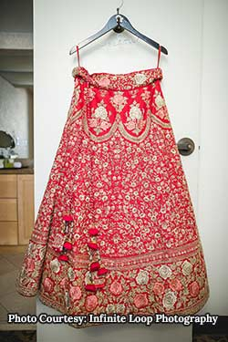 selecting your wedding lehenga and keeping it safe until your wedding day