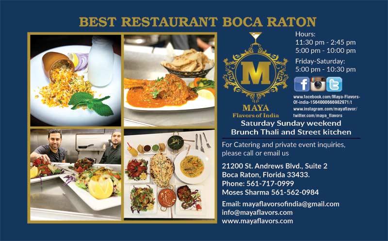 Maya Flavors Of India
