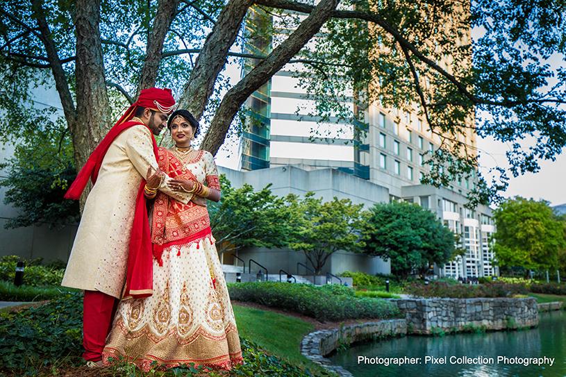 Wonderful Indian Couple Capture Outdoors