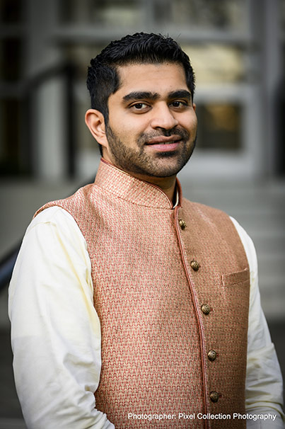 Handsome Click of Indian Groom by Pixel Collection Photography