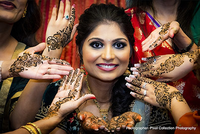See this incredible mehndi art capture