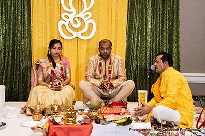 Parents in Wedding Ceremony