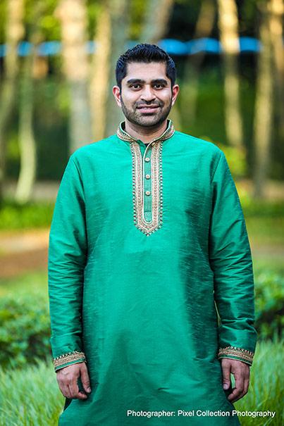 Handsome Look of Indian groom