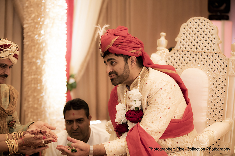 Portrait Capture of indian groom