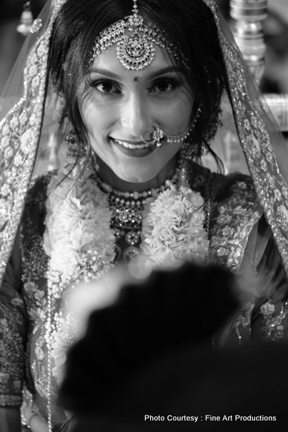 Indian Bride Posing for photo