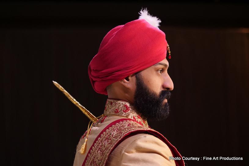 Tender Indian wedding photoshoot