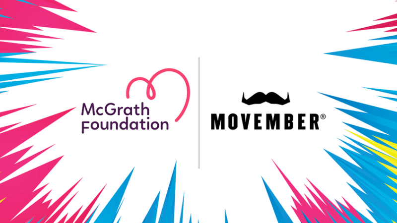 McGrath Foundation and Movember