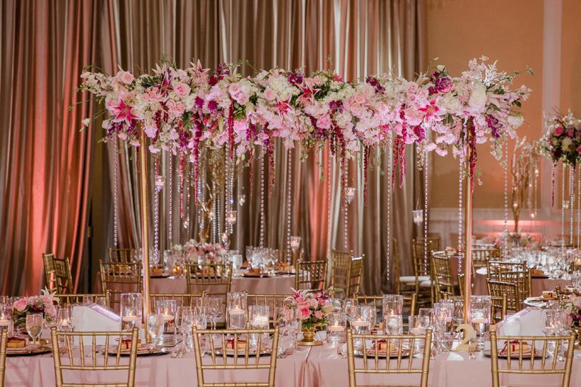 Floral Indian Wedding decoration