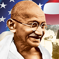 Gandhi's Ideas of Nonviolence for Americans