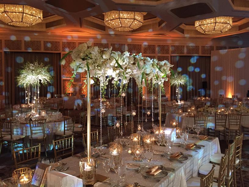 Amazing Table decor at Indian Wedding