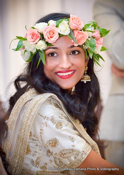 Wonderful Bride Flower Jwelery