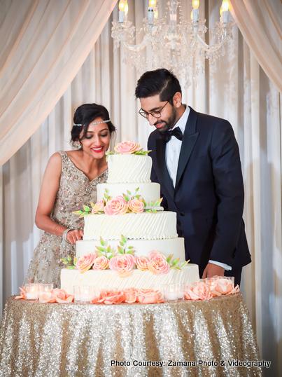 Wonderful Indian Wedding Cake Capture