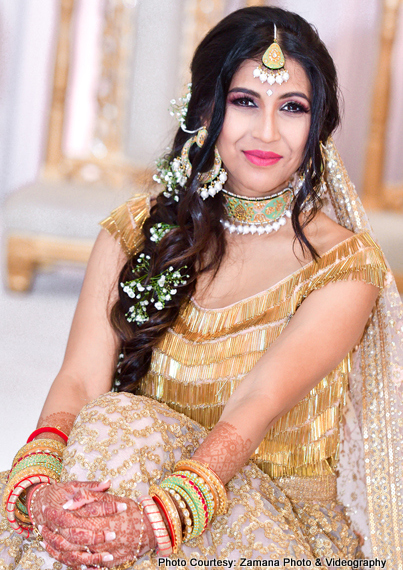 Lovely indian bride photography