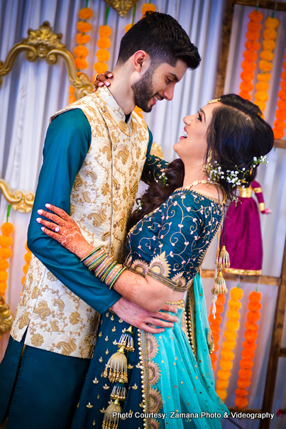 Indian Bride and Groom's Tender Movement Captured by Zamana Photo & Videography