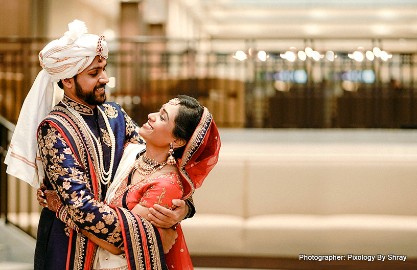 Astonishing indian couple's wedding photography by Pixology By Shray
