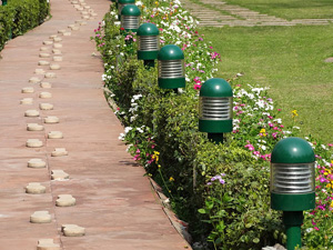 Path along Which Mahatma Gandhi Walked to His Assassination