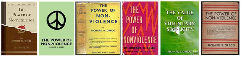Gregg's book, The Power of Nonviolence, deeply affected how he thought about passive resistance