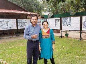 Sanjiv Anand and Wife Seema Anand