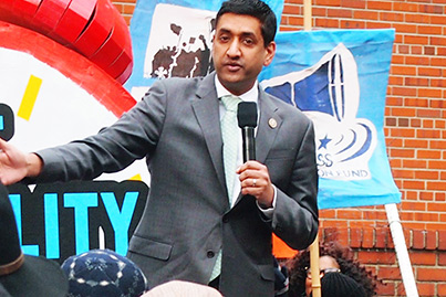 Indian American leaders Ro Khanna