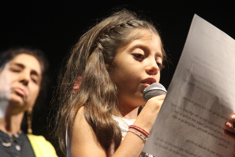 Speech by the daughter of Neha Ganju