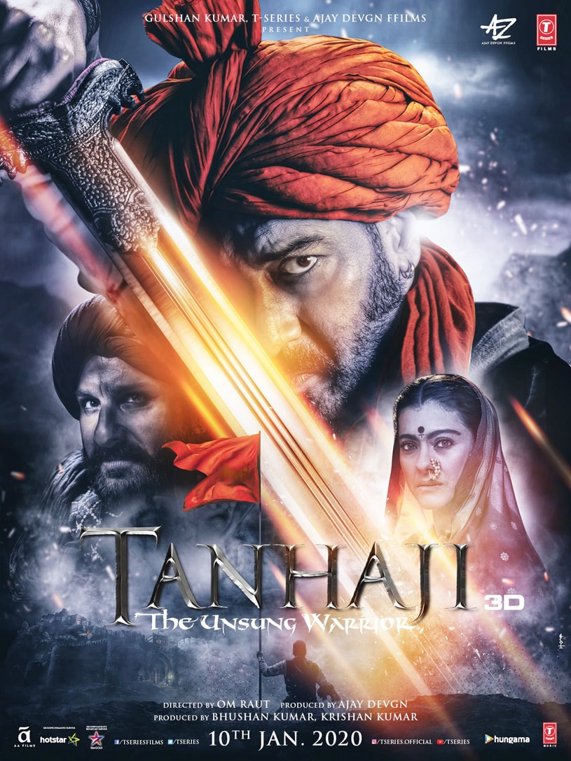 Bollywood Movie Review: Tanhaji: The Unsung Warrior
