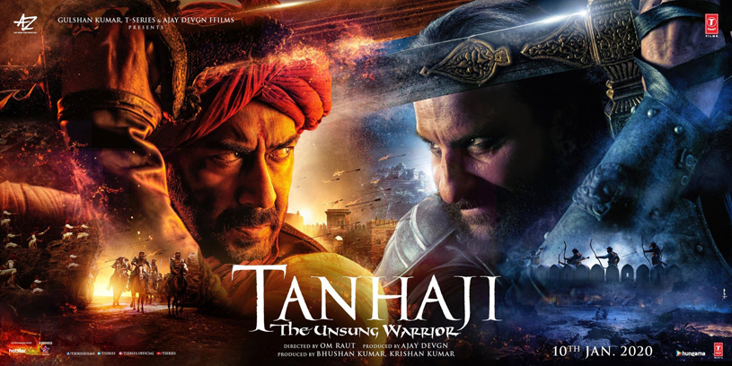 Tanhaji: movie released on January 10, 2020