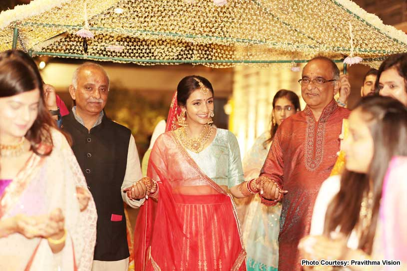 Bride Entering The Chauri
