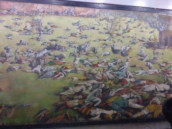 JallianWala Bagh Massacre portrait painting