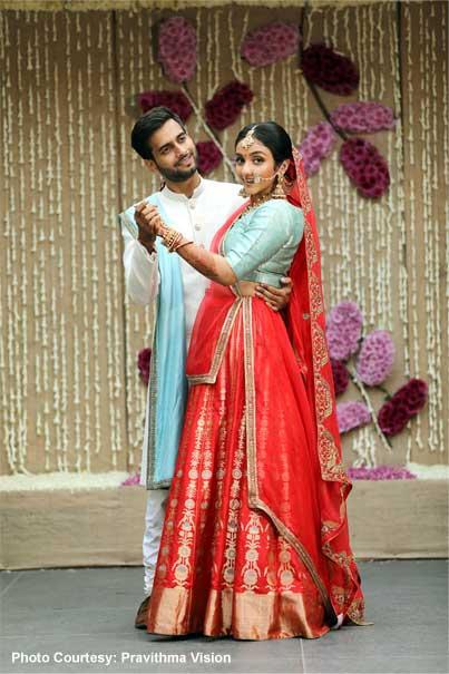 Indian Wedding Photoshoot before the Ceremony
