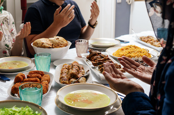 Do Muslims celebrate the completion of Ramadan?