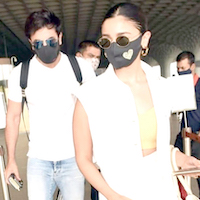 Lovebirds Ranbir Kapoor and Alia Bhatt leave for Maldives