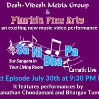 Sa Ni Dha Pa Live Carnatic Edition - Sur Sangam in Your Living Room