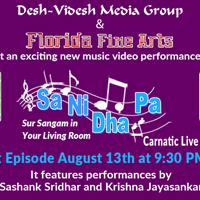 Sa Ni Dha Pa Live Carnatic Edition - Sur Sangam in Your Living Room
