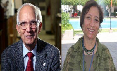 Prof. Rattan Lal and Dr. Uma Lele