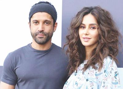Shivani Dandekar & Farhan Akthar