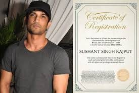 Star named after Sushant