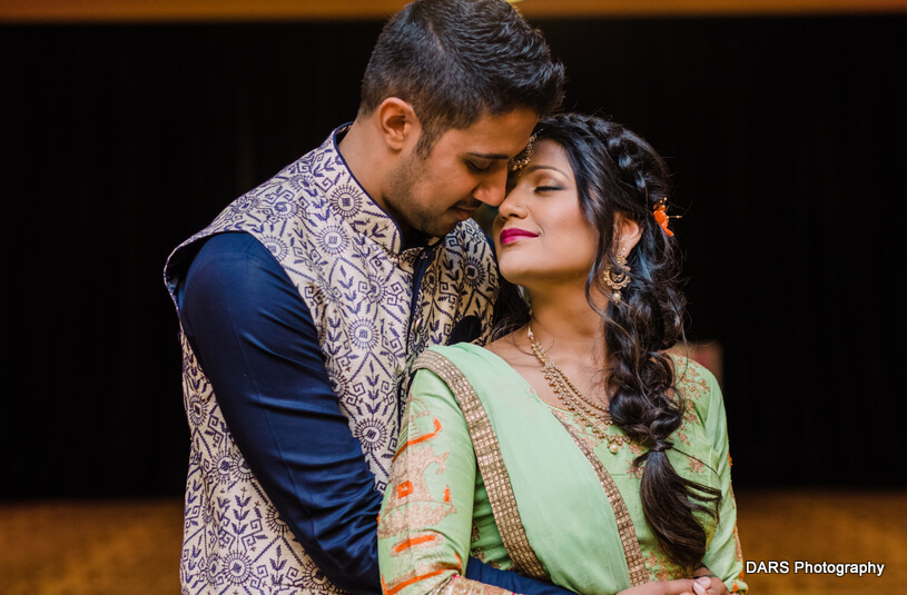 Lovely Capture of Indian Bride And Groom